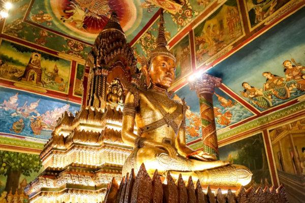 Golden Buddha, Phnom Penh, Cambodia