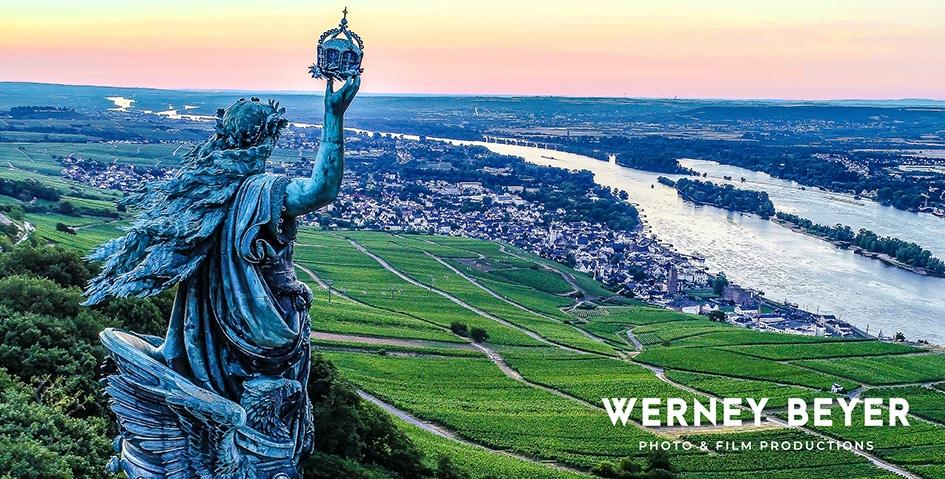 Germania Monument, Rüdesheim/Rhein, Germany