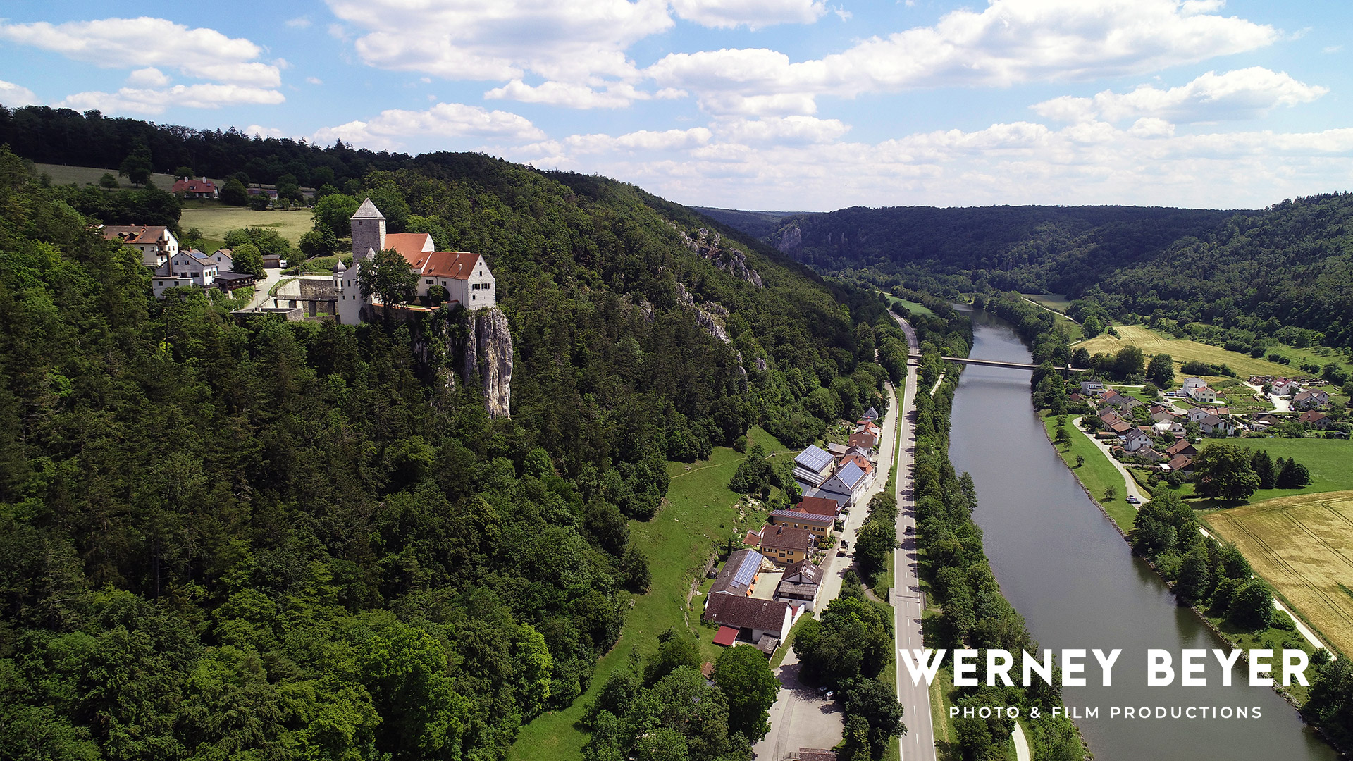 Castle Prunn, Main Danube Canal, Bavaria, Germany