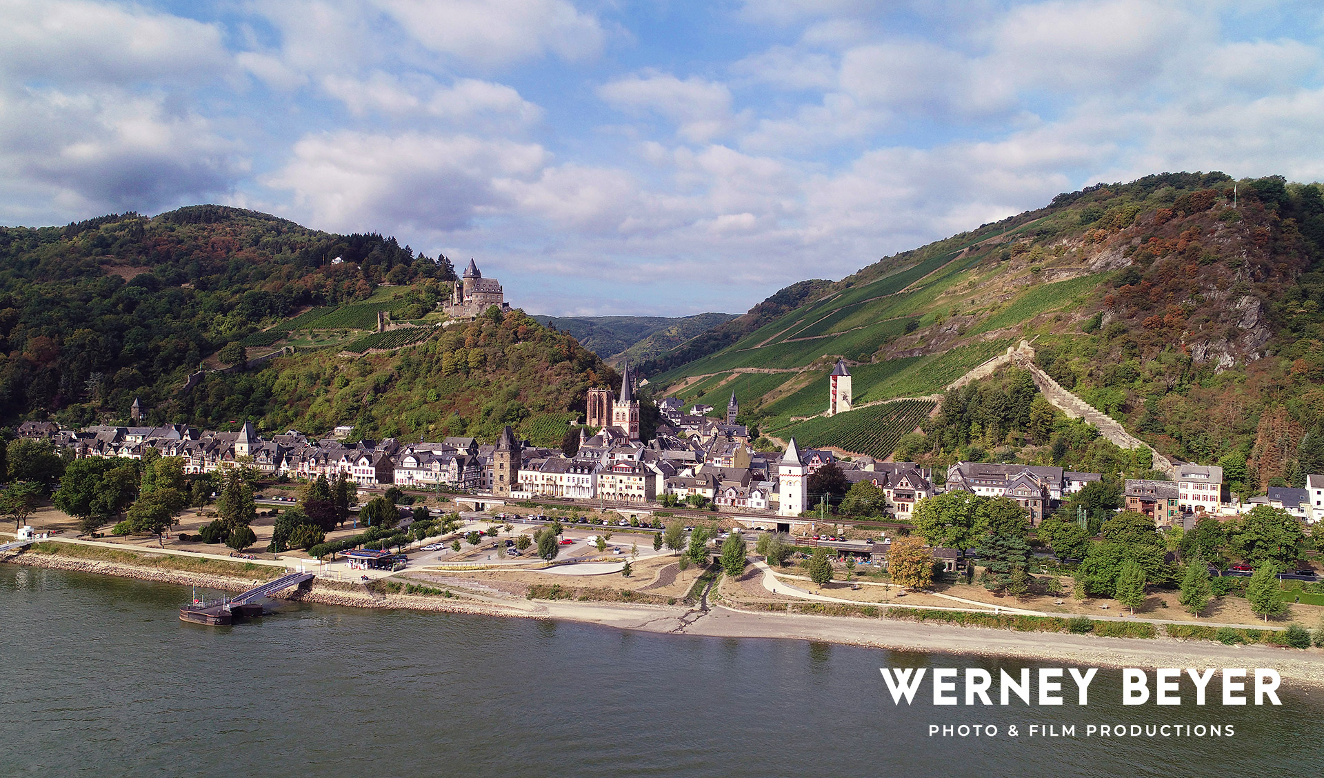 Bacharach, River Rhine, Germany