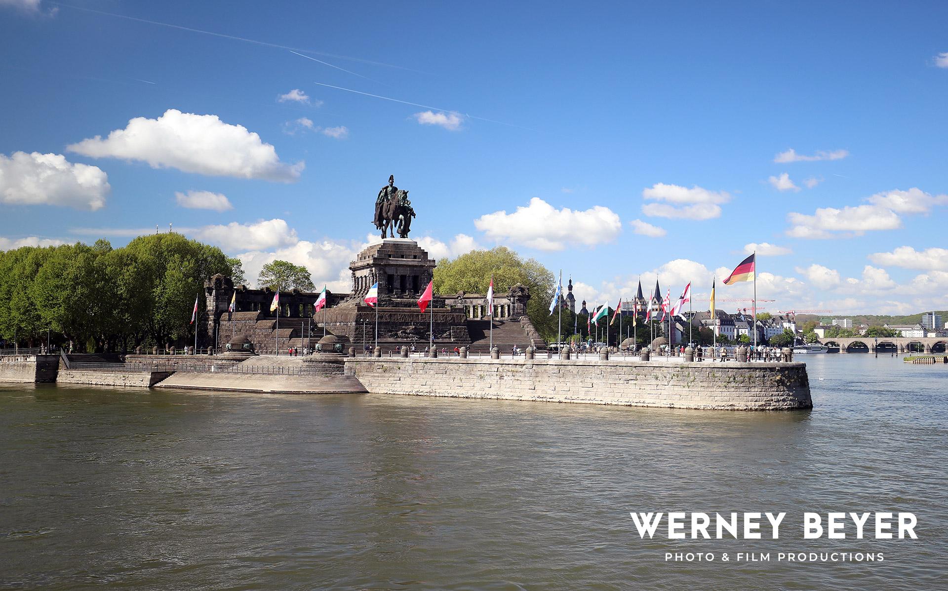 German Corner, Koblenz, River Rhine & Moselle, Germany