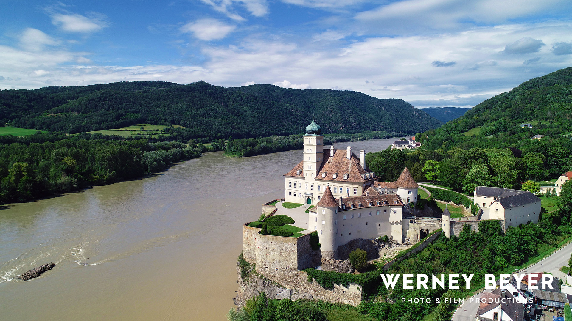 Palace Schoenbuehel, Wachau, River Danube, Austria