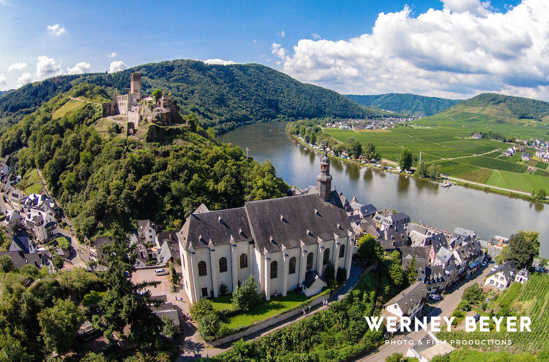 Beilstein, Fluss Mosel, Deutschland