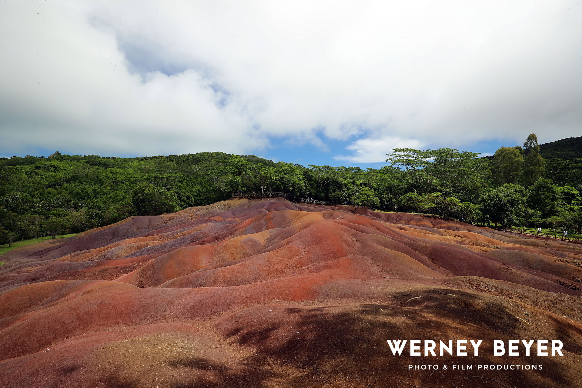 Chamarel Seven Coloured Earth Geopark, Mauritius