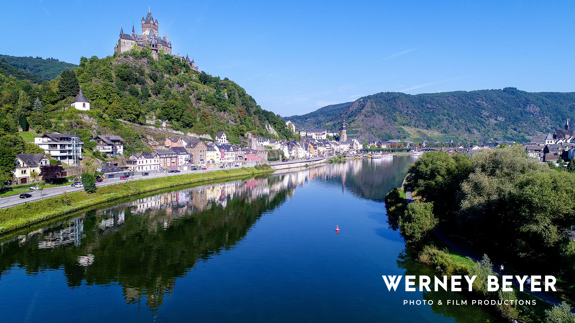 Cochem, River Moselle, Germany