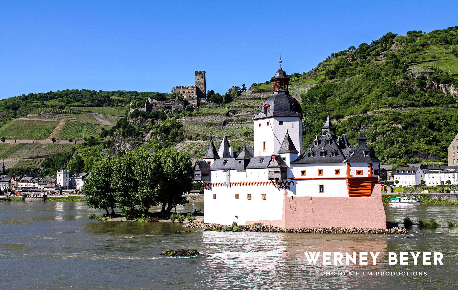 Burg Pfalzgrafenstein, Rheintal, Deutschland