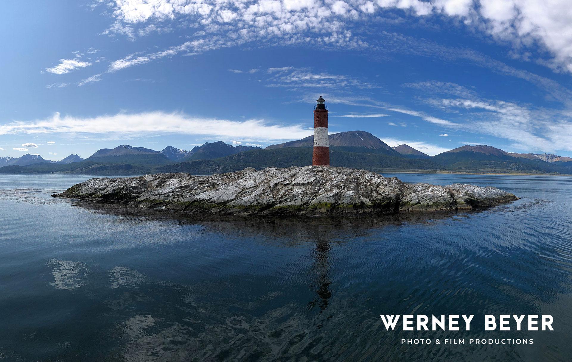 Les Éclaireurs, Lighthouse, Beagle Canal, Argentina