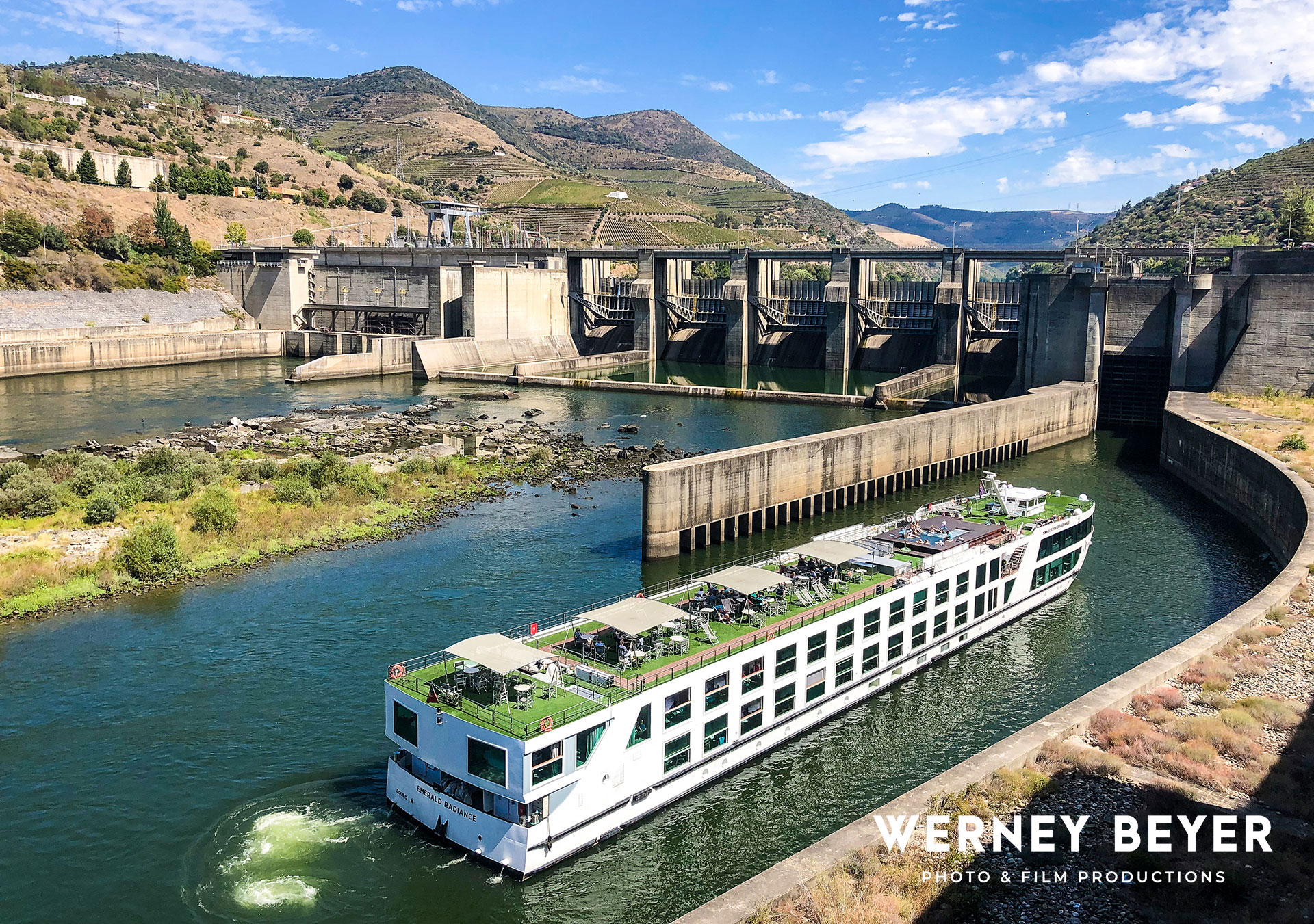 Lock, River Douro, Portugal