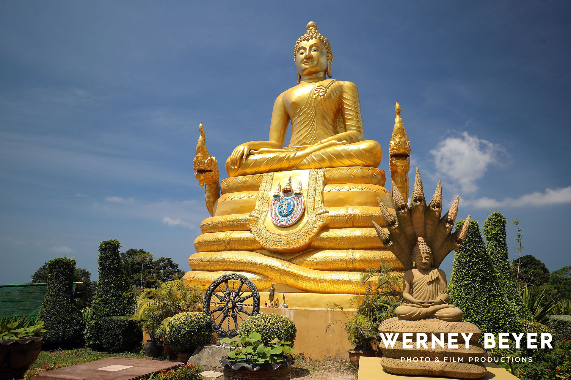 Lord Buddha, Phuket, Thailand