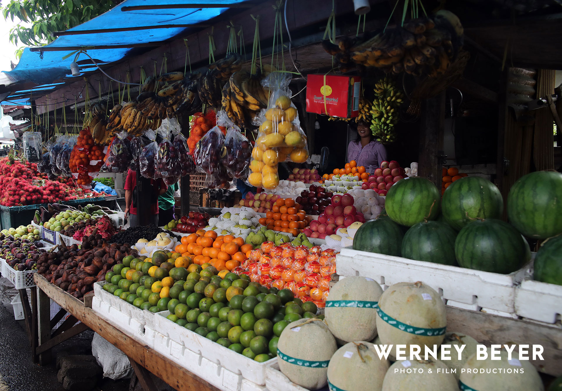 Market, Lombok, Indonesia