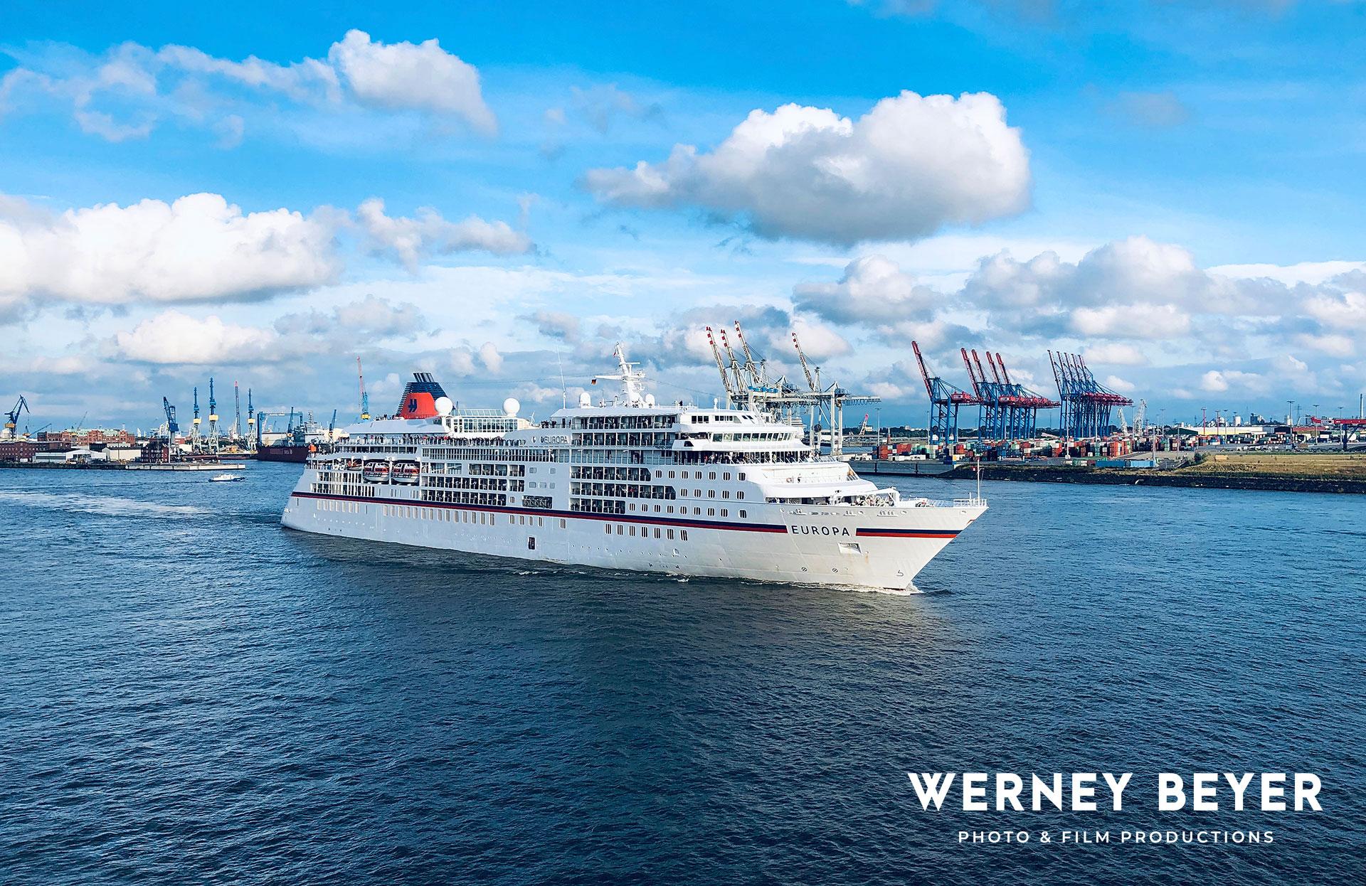 MV Europa, Port of Hamburg, Germany