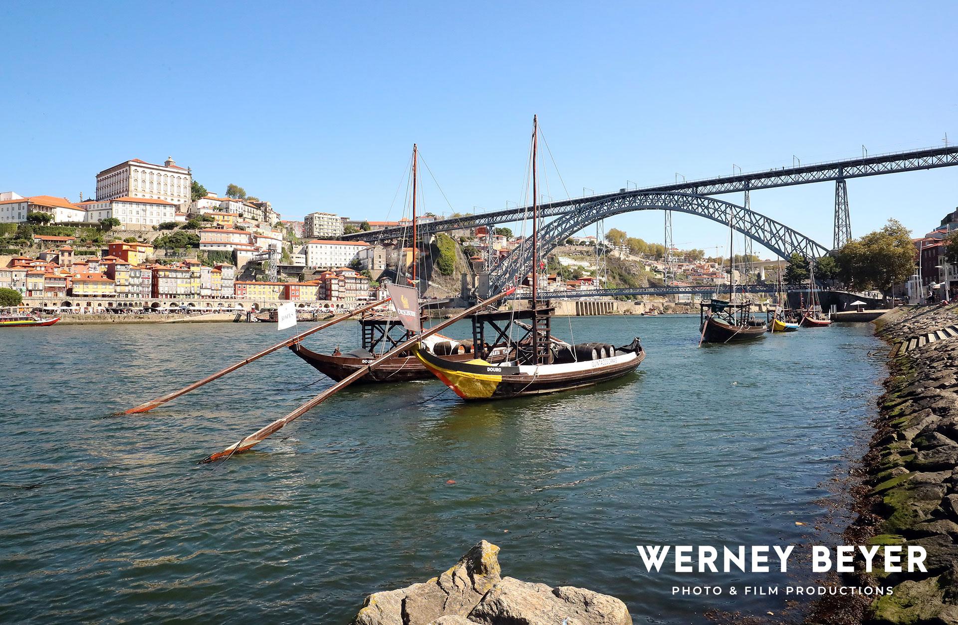 Porto, River Douro, Portugal