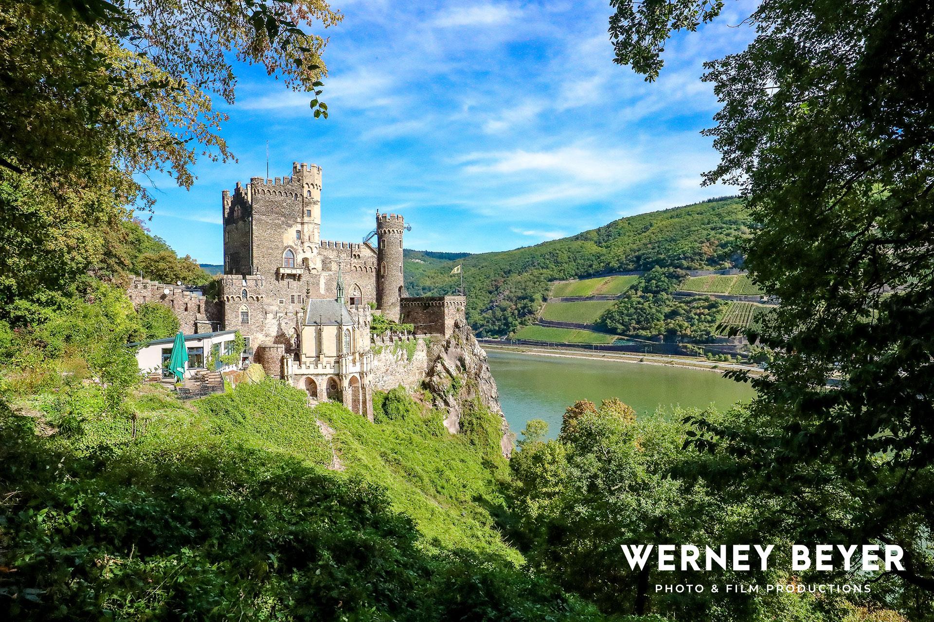 Rheinstein Castle, Rhine Gorge, Germany
