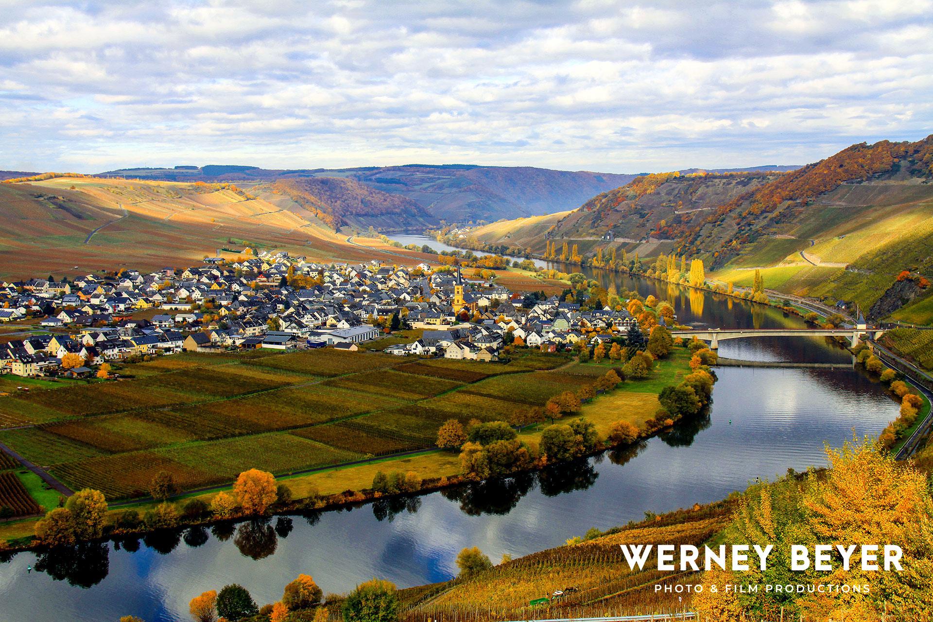 Trittenheim, River Moselle, Germany
