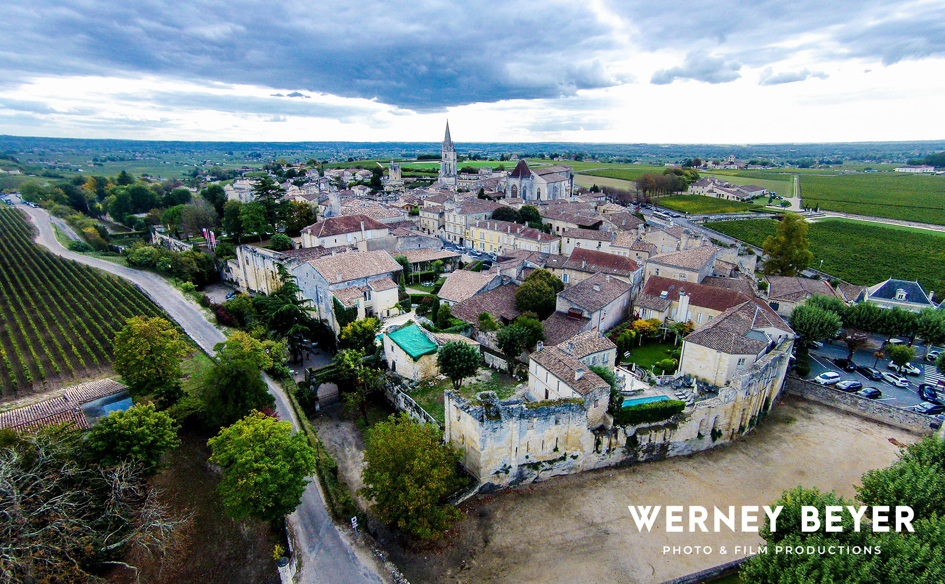 Saint-Émilion, Bordeaux Area, France
