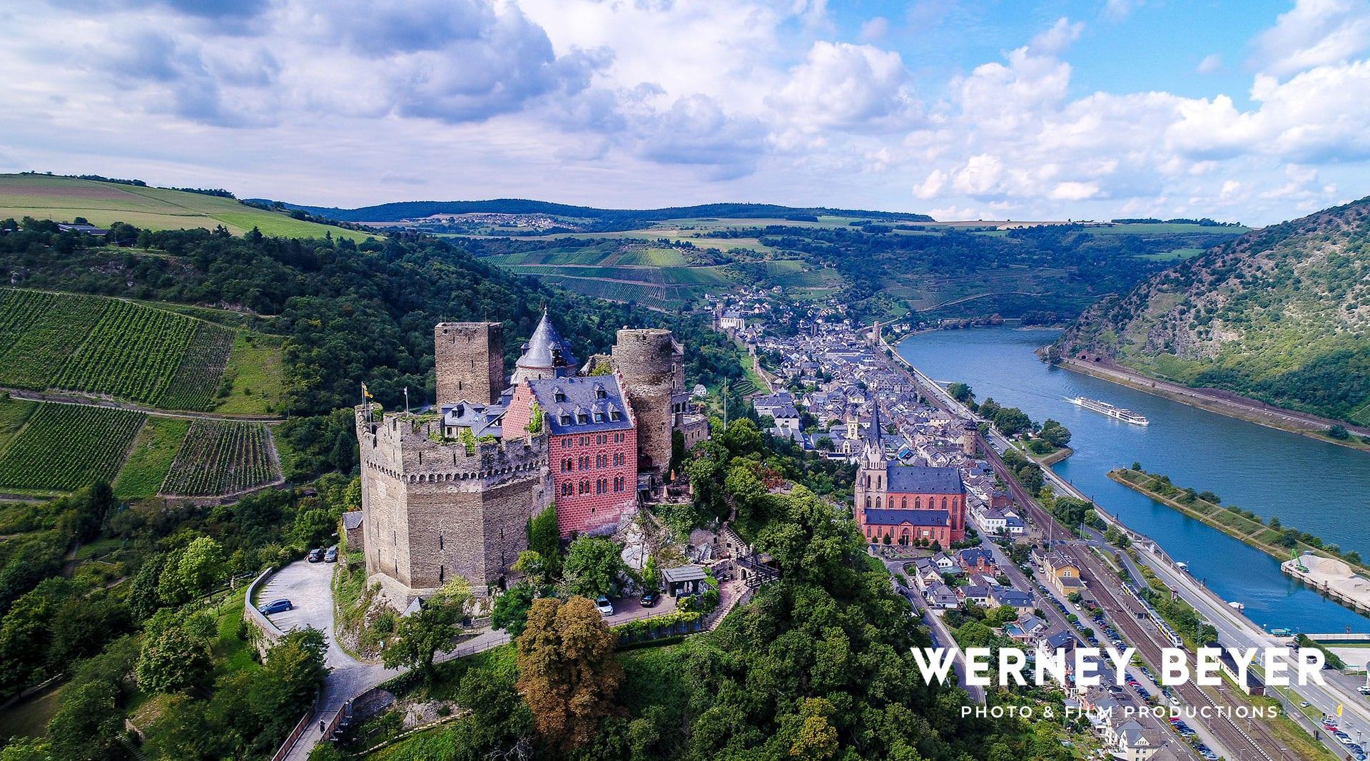 Oberwesel, Rheintal, Deutschland