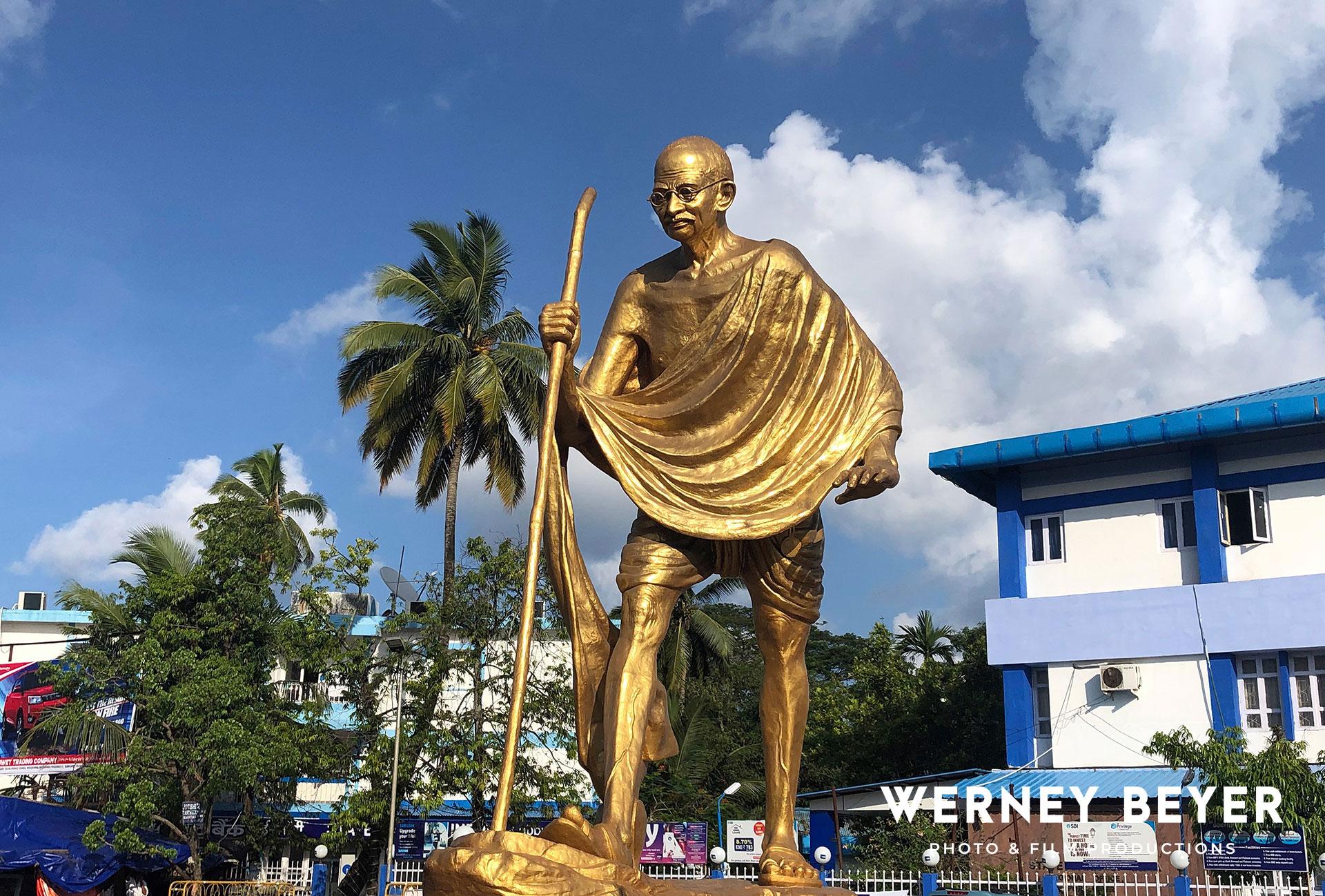 Statue of Mahatma Gandhi, Andaman, India