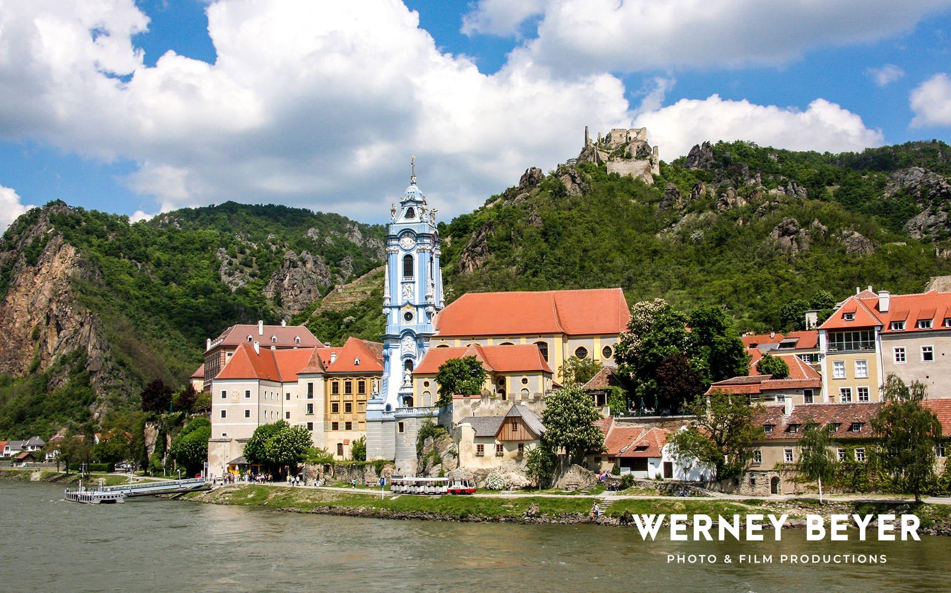 Dürnastein, wachau, Fluss Donau, Österreich